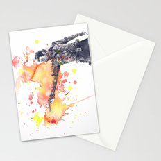 Portrait of Rick Grimes from The Walking Dead Stationery Cards
