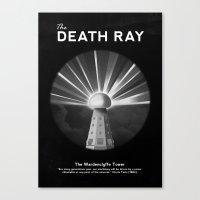 The Death Ray Canvas Print