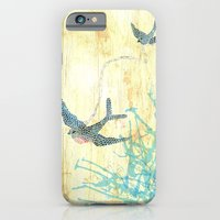 iPhone & iPod Case featuring Birds of blue by TeeLou