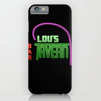 iPhone & iPod Case featuring Lou's Tavern - Fight Club by Graeme Voigt