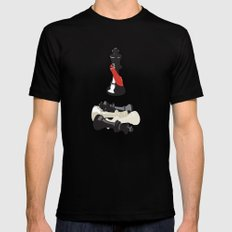 Kings Mens Fitted Tee Black SMALL