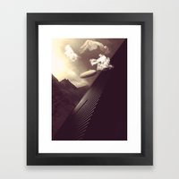 Imagination Un-interrupt… Framed Art Print