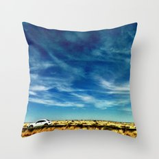 The Drive. Throw Pillow
