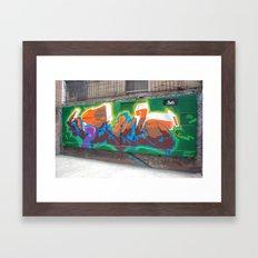graffiti2  Framed Art Print