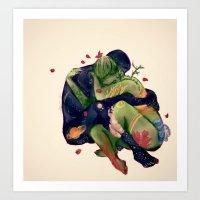 Mater T, Pater U Art Print