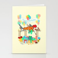 The Birthday Party Clown… Stationery Cards