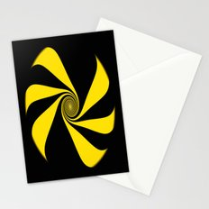 Abstract. Yellow Ribbon. Stationery Cards