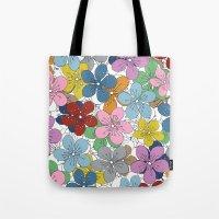 Cherry Blossom Colour - … Tote Bag