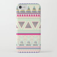 aztec iPhone & iPod Cases featuring Aztec by ALT + CO