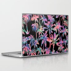 Maui Palm {Black} Laptop & iPad Skin