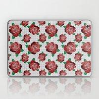 rose & dots pattern Laptop & iPad Skin
