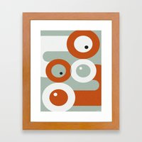 NUDGE Framed Art Print