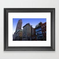 New York City Buildings NYC Framed Art Print