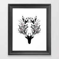 Deer, Oh Dear Framed Art Print