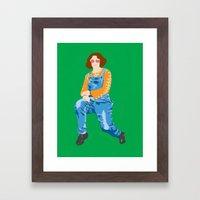 Mum, 2013. Framed Art Print