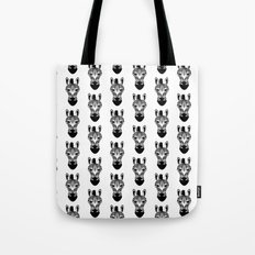 Black And White Zebra Pa… Tote Bag