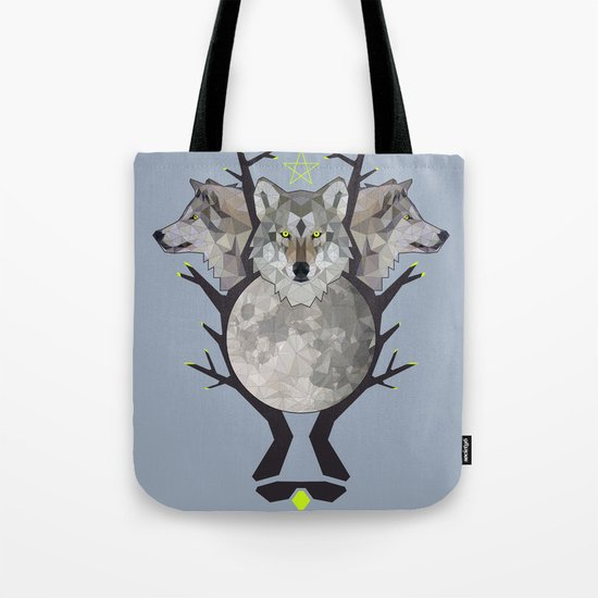 wolfmoon Tote Bag