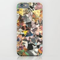 iPhone & iPod Case featuring cateyewrestleparty by Jen Lin Aliaga