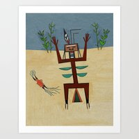 Healing Ceremony Art Print