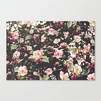 Beat Around The Rosebush Canvas Print