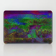 66-84-01 (Earth Night Glitch) iPad Case