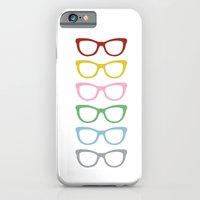 iPhone & iPod Case featuring Glasses #3 by Project M