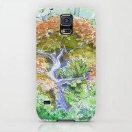 Peaceful Garden Galaxy S5 Slim Case