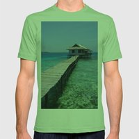 Secret House Mens Fitted Tee Grass SMALL