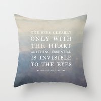 III. Anything Essential … Throw Pillow