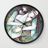 DO NOT LEAVE ME Wall Clock