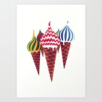 Summer In Moscow Art Print