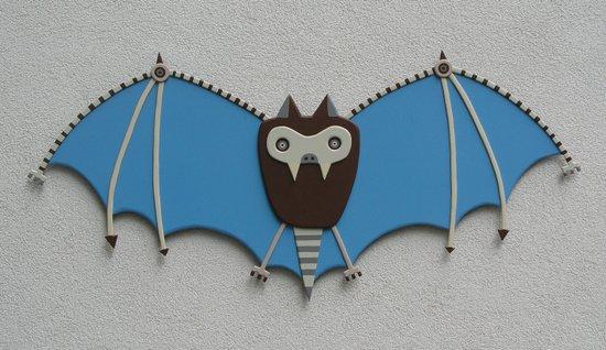 The bat! Art Print