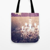 Fields Of Light Tote Bag