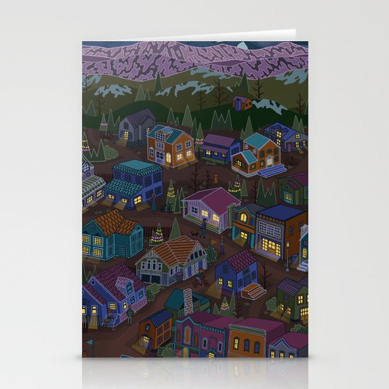 Adventure Town Stationery Card