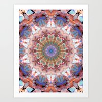 Abstract Of Nature Color… Art Print