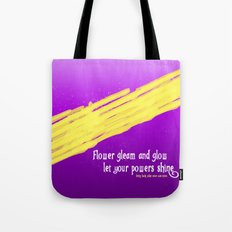 GLEAM & GLOW Tote Bag