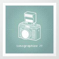 Lomographize It! (light … Art Print