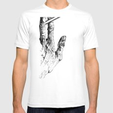 2 tools Mens Fitted Tee SMALL White