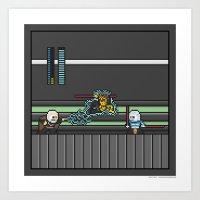 Mega Boss Battles - Dook… Art Print