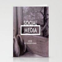 Social Media Stationery Cards