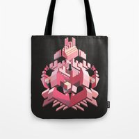 My Heart Is Made of Lasers Tote Bag