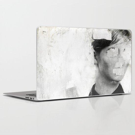 Faceless   number 01 Laptop & iPad Skin