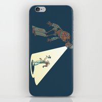 Robot Number 3 and Me iPhone & iPod Skin