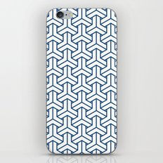 bishamon in monaco blue iPhone & iPod Skin