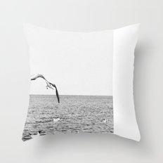 seagul Throw Pillow