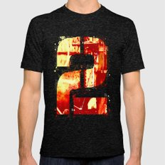 -2- Mens Fitted Tee Tri-Black SMALL
