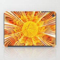 Summer Fractal Flower iPad Case