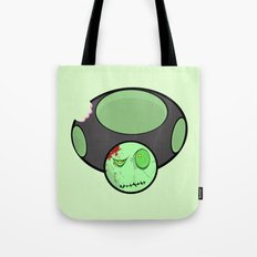 Zombie Toad Tote Bag