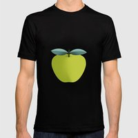 Apple 31 Mens Fitted Tee Black SMALL