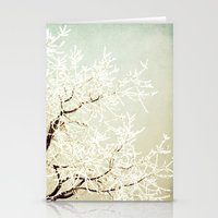 Frozen Tree Stationery Cards